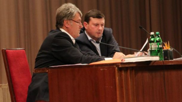 Ющенко вручил Бондарчуку