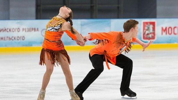 Россиянка выступала в танцах на льду