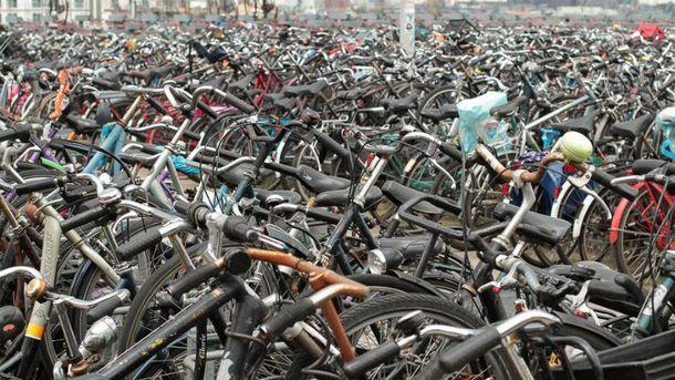 Китайські велосипеди незаконно завезли в порт
