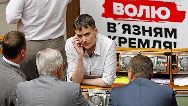 Надія Савченко наводить порядок у Верховній Раді
