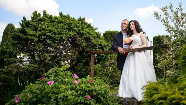 Козак Гаврилюк одружився з на 14 років молодшою Яриною