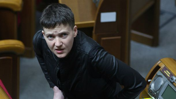 Савченко розповіла про свої амбіції