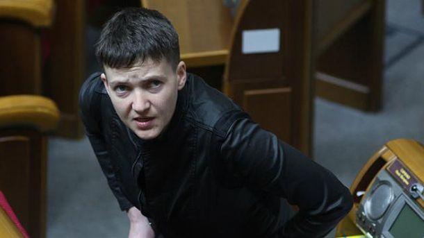Савченко рассказала о своих амбициях