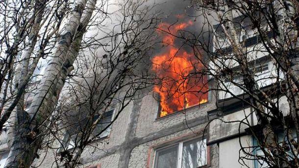 В Московском районе Харькова загорелось общежитие (иллюстрация)