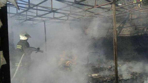 Пожарникам  удалось ликвидировать пожар