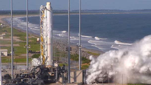 Ракета Antares з українським ступенем успішно пройшла випробування в США
