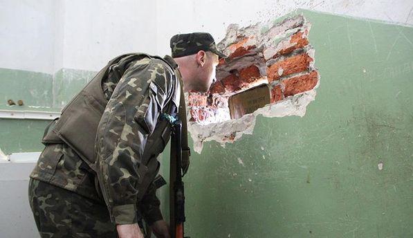 Военный на Донбассе