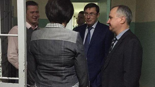 Юрій Луценко та Василь Грицак