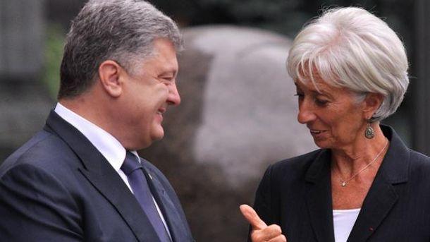 У Лагард размышляют, чтобы почти вдвое уменьшить транш для Украины