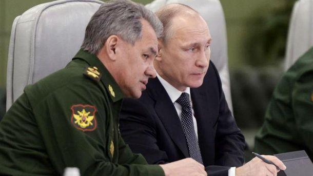 Путин притих