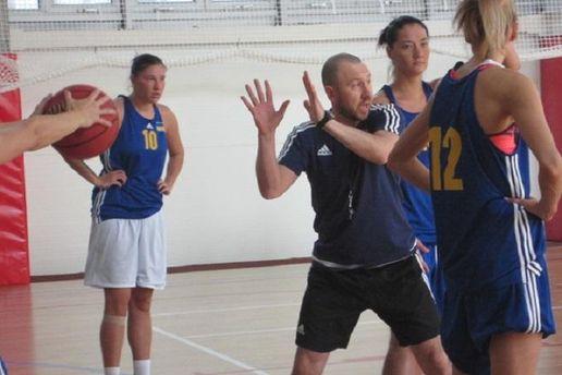 Сергій Вознюк веде тренування збірної