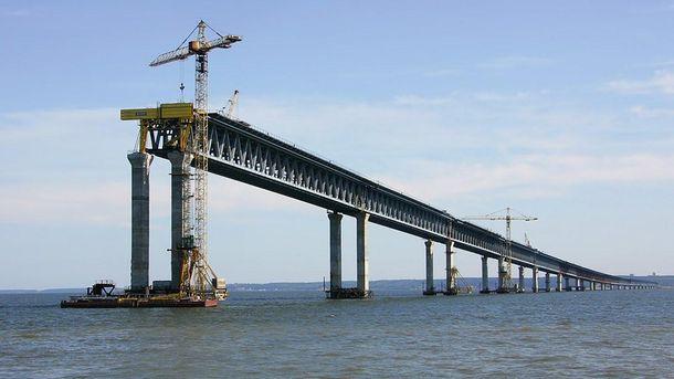 Керченский мост может остаться так и недостроенным