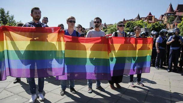 Предыдущие Марше равенства в Киеве не обходились без провокаций