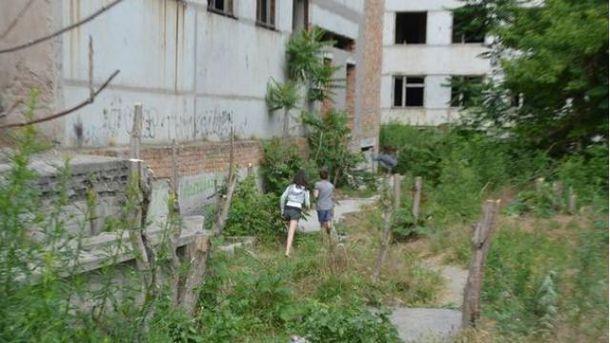 Недобудована поліклініка  у центрі Миколаєва