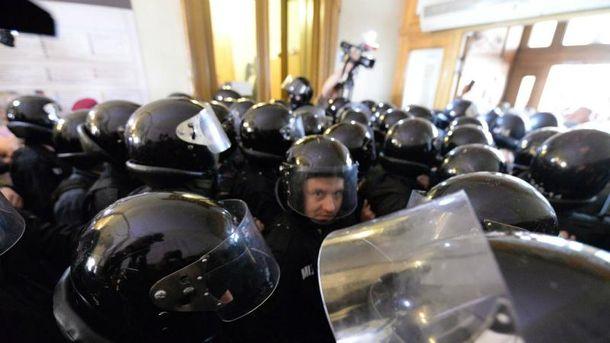 Противостояние во Львовском горсовете
