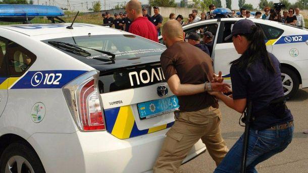 Харьковская полиция в работе