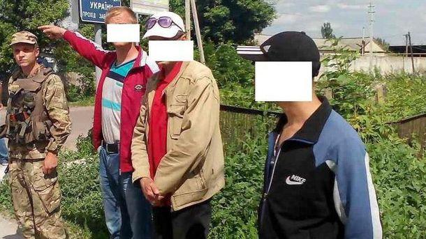 Украинцы хотели бежать в Россию