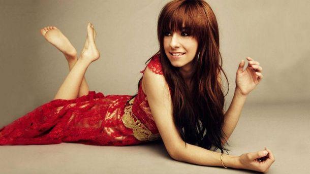 Американская певица Кристина Гримми