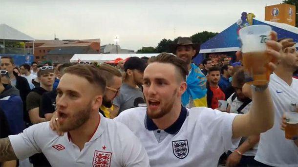 Английские фанаты