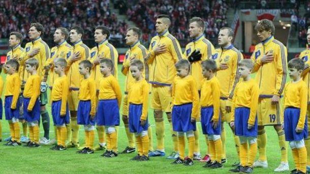 Букмекери не вірять в українську збірну