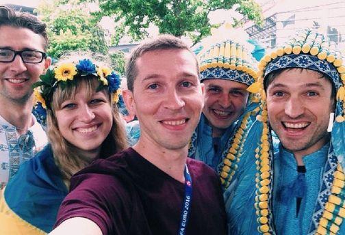 Фанати збірної України