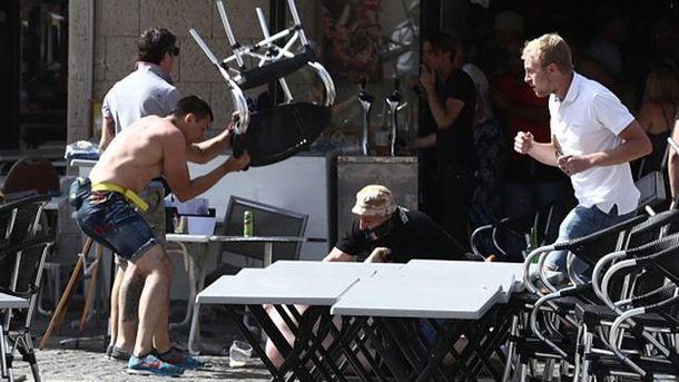 Бійка фанатів у Марселі