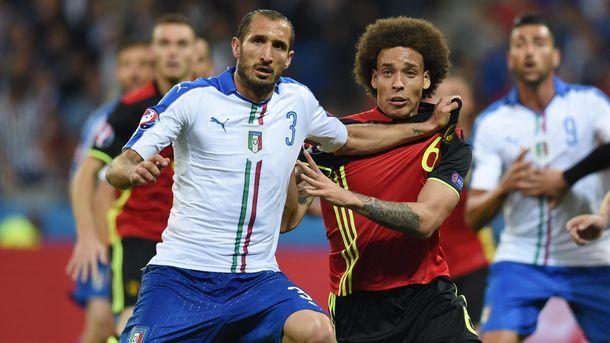 Бельгійці поступились Італії