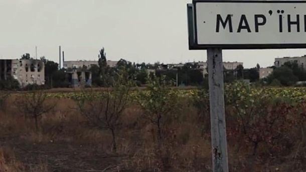 Марьинка в очередной раз пострадала от обстрелов