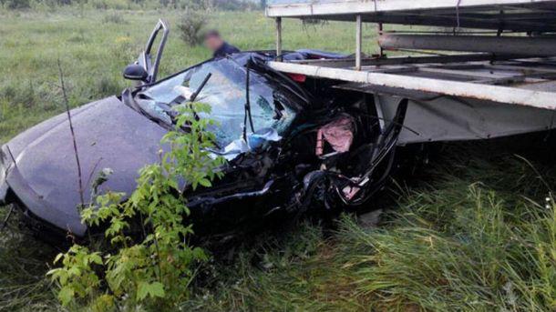 Авария близ Славянска