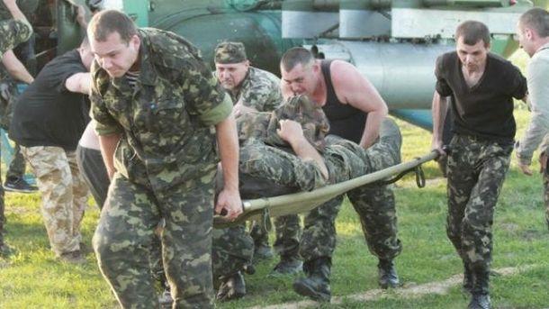 Ранения бойцы получили возле Авдеевки и Марьинки