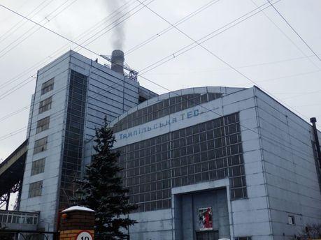 Авария произошла на Трипольской ТЭС