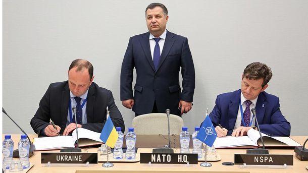 Министерство обороны подписало с НАТО документ о сотрудничестве