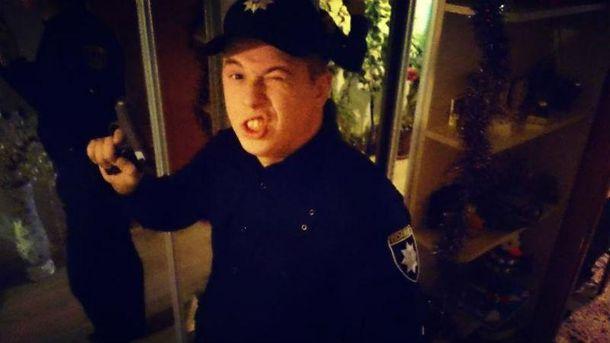 Полицейский Андрей Власов