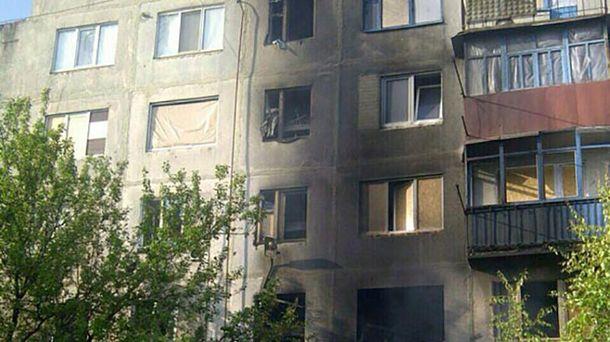Терористи обстріляли будинок