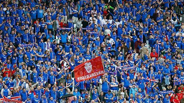 Ісландські вболівальники на Євро-2016