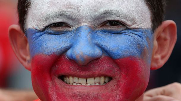 Російський вболівальник на Євро-2016