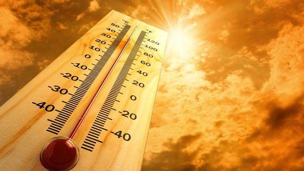 В Україну йде спекотне літо