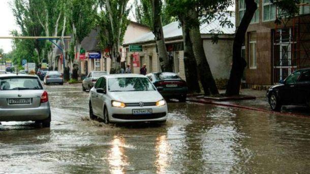 Непогода в Керчи