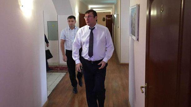 Юрий Луценко в Одессе