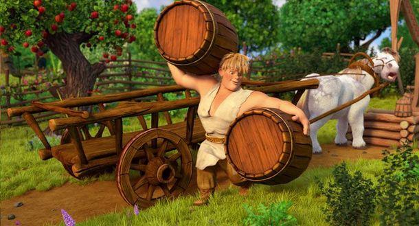 Кадр из украинского мультфильма