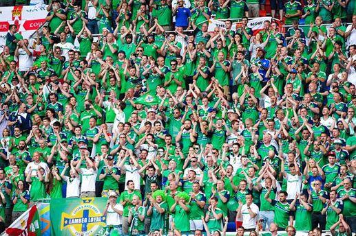 Фанаты Северной Ирландии