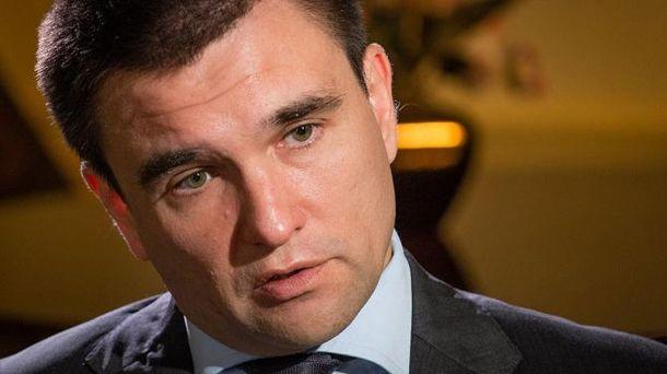 Павло Клімкін назвав кількість українських політв'язнів в Росії