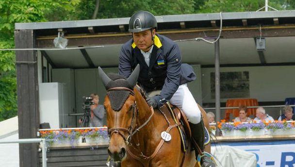 Олександр Онищенко та його бравий кінь