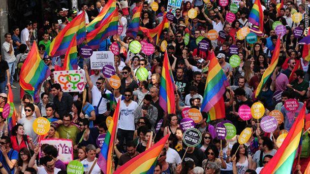 Гей-парад у Стамбулі
