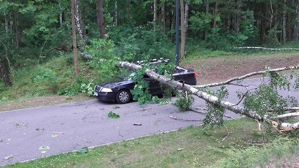 Ураган у Польщі