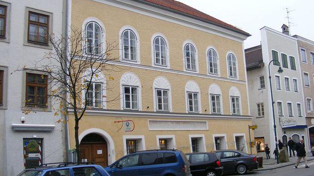 В этом доме родился Адольф Гитлер
