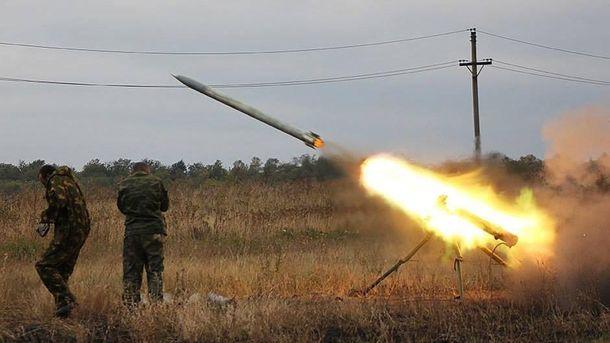 Боевики обстреливают позиции украинских военных