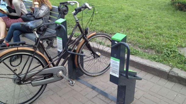 Умная велопарковка в Киеве