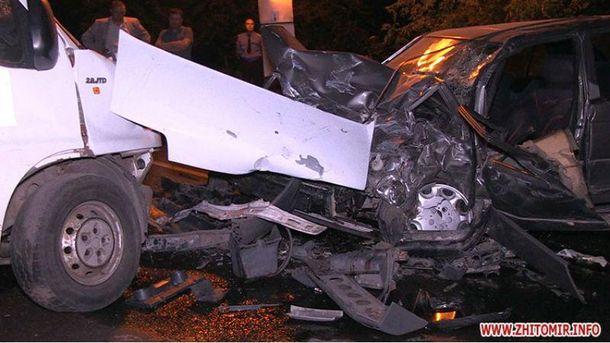 Страшная авария в Житомире