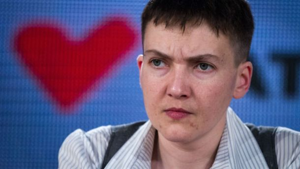Савченко колеги вітали стоячи